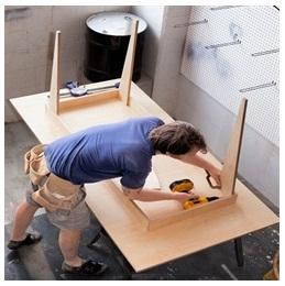 Сборка столов по низким ценам в Ижевске от специалистов