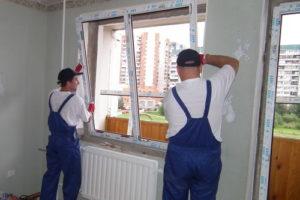 Установка пластиковых окон в Ижевске