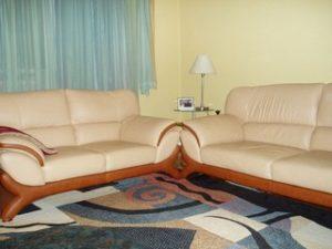 Перетяжка кожаной мебели в Ижевске