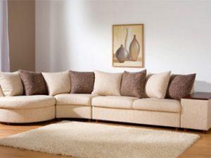 Перетяжка углового дивана на дому в Ижевске